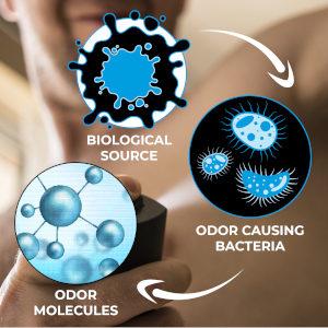 Focus on deodorant products
